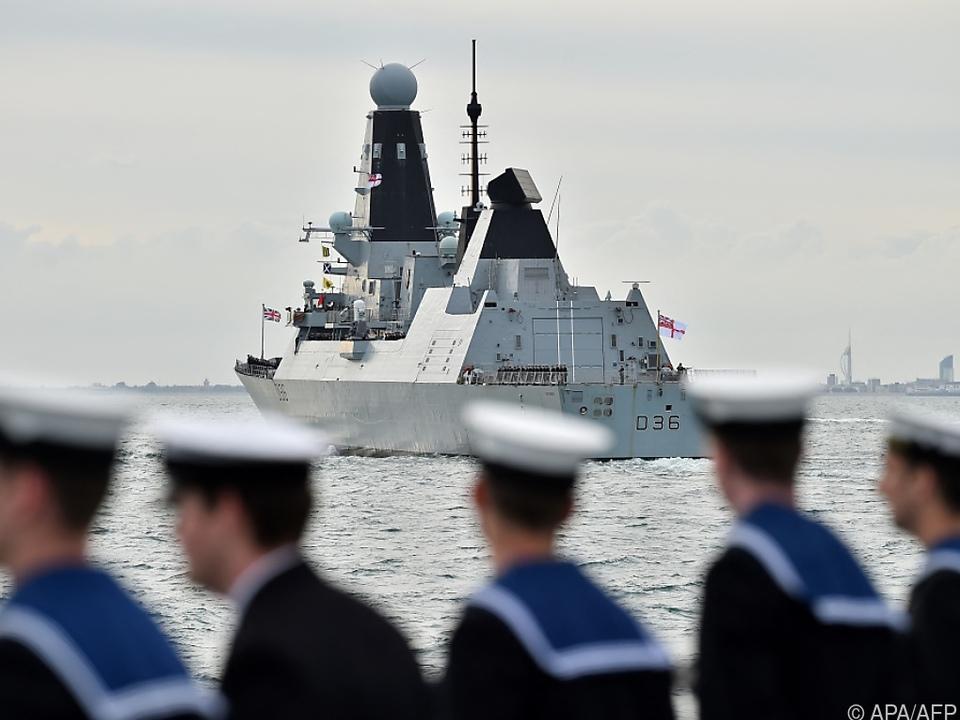 Seestreit zwischen Großbritannien und Russland
