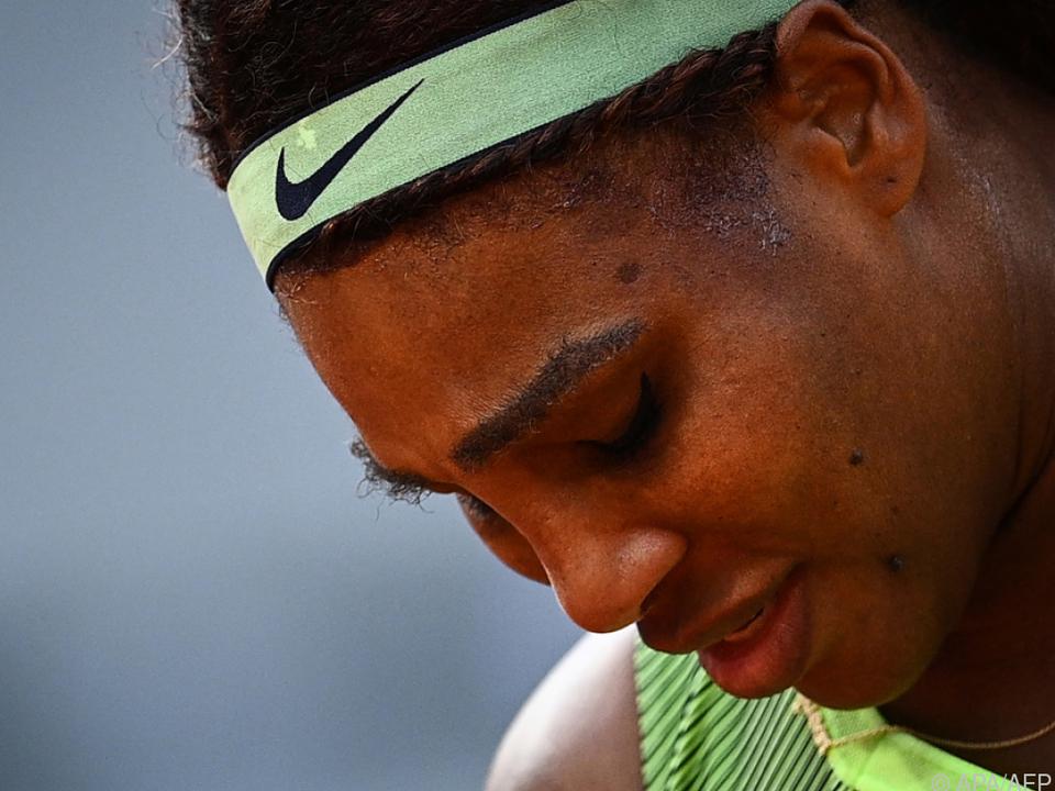 Serena Williams blieb bei einem Grand Slam erneut vorzeitig hängen.