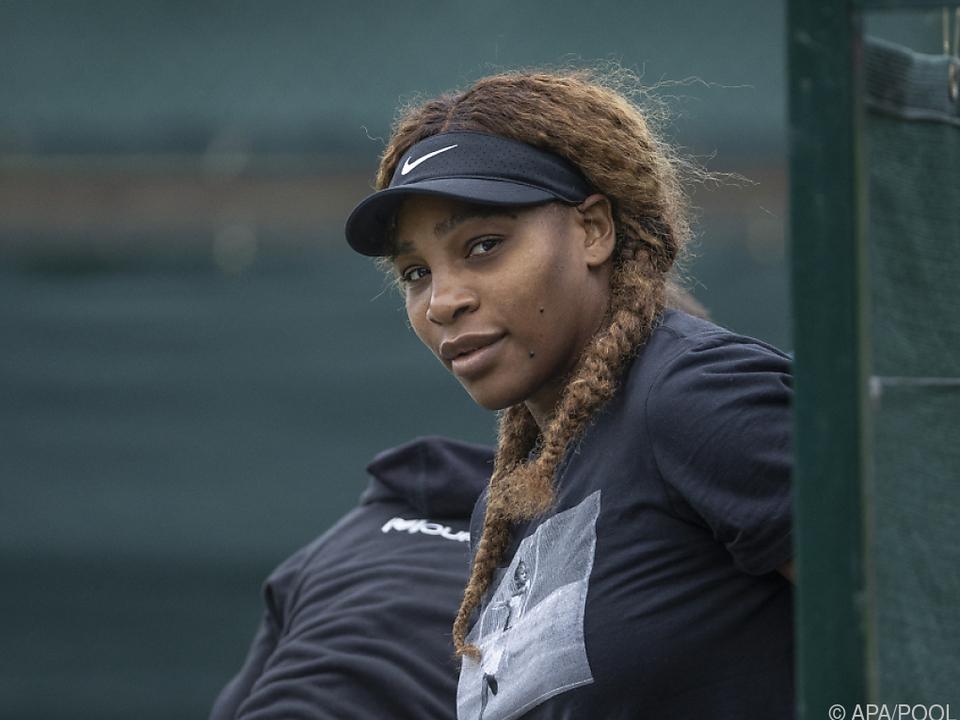 Serena Williams ist keinesfalls nur Zaungast in Wimbledon