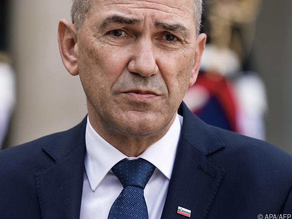 Sloweniens Premier Jansa