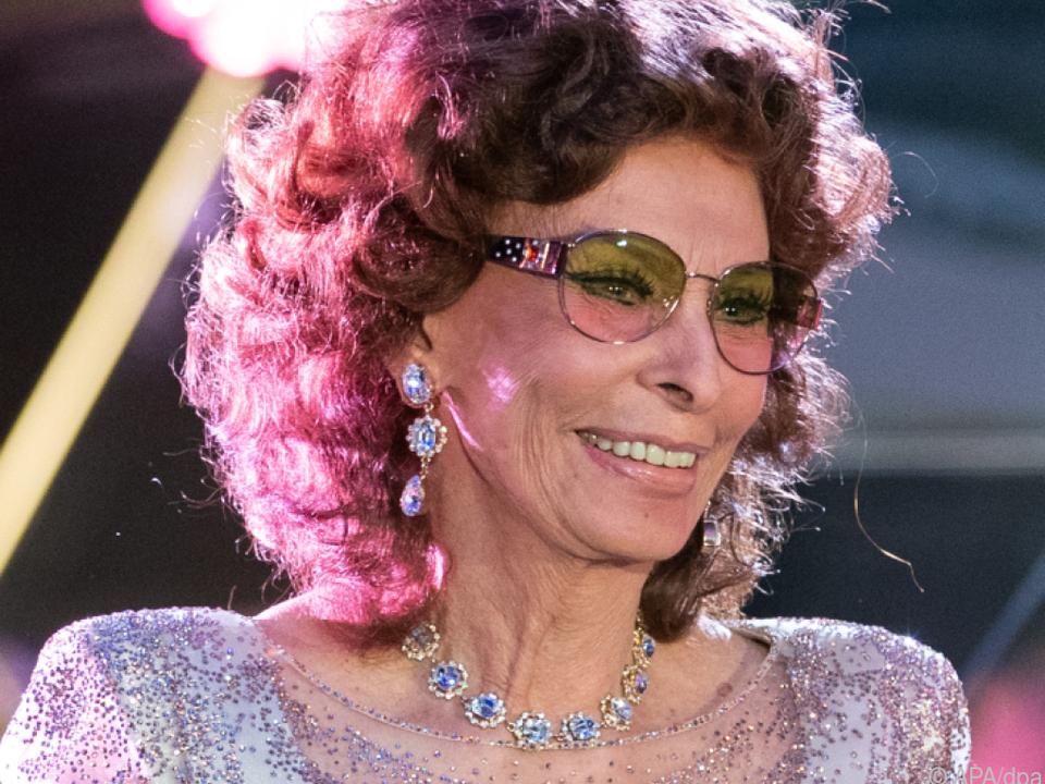 Sophia Loren versorgt ihre Gäste nun in Florenz