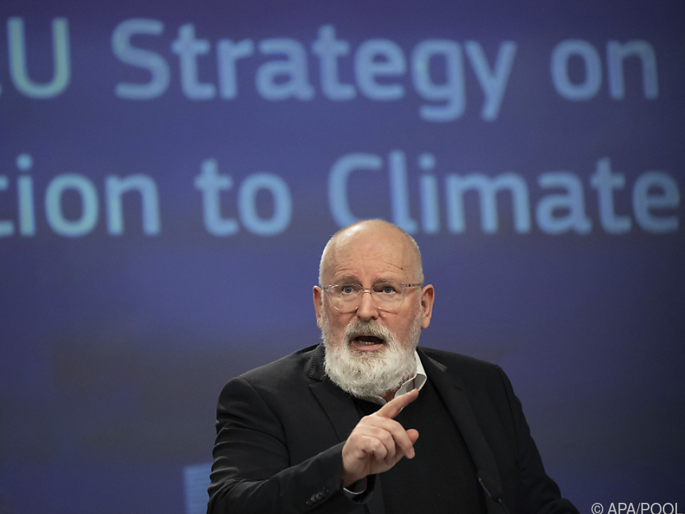 Sozialdemokrat Timmermans will CO2-Steuern abfedern