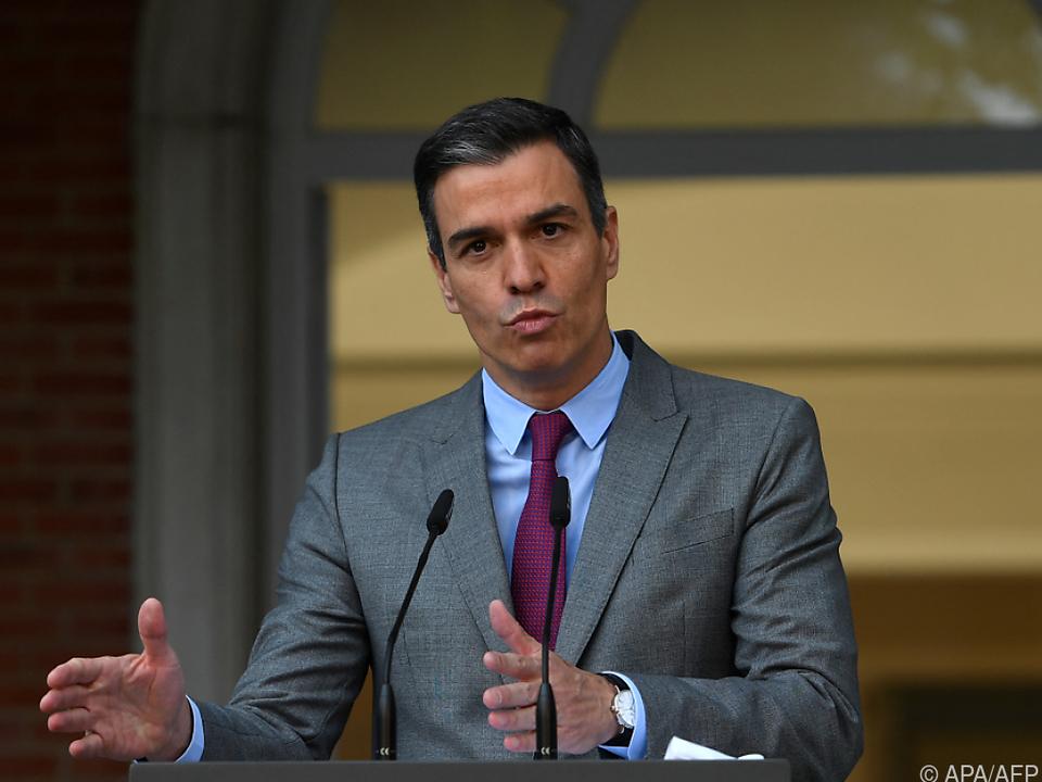Spaniens Premier Pedro Sánchez