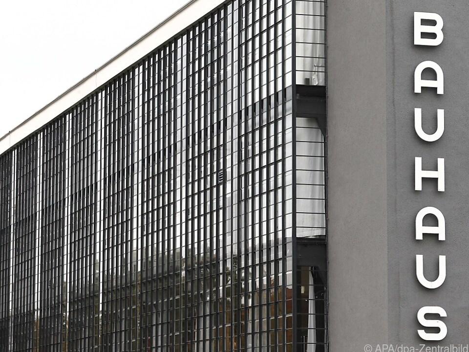 Steht im Zentrum der Aufmerksamkeit: Das Bauhaus Dessau