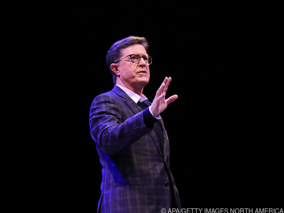 Stephen Colbert meldet sich aus dem Wohnzimmer zurück