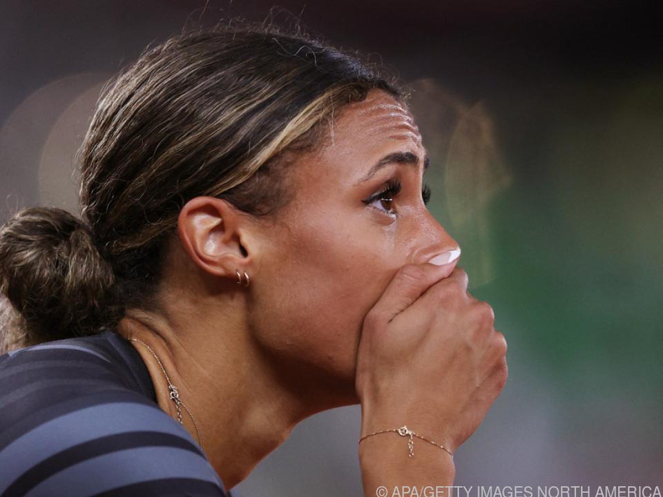 Sydney McLaughlin lief einen Weltrekord
