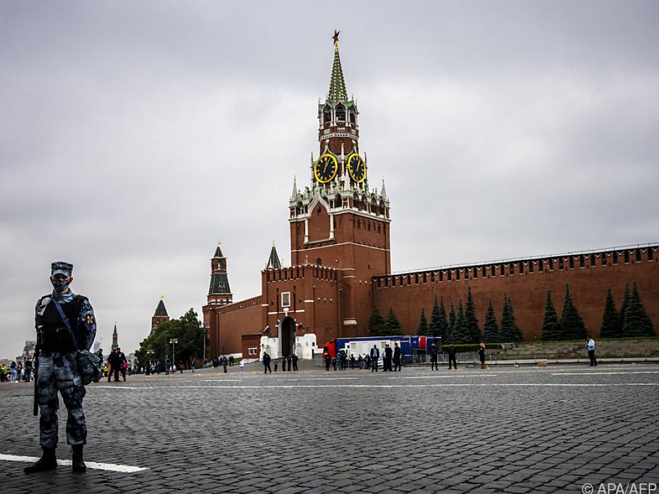 Tausende neue Fälle in der russischen Hauptstadt