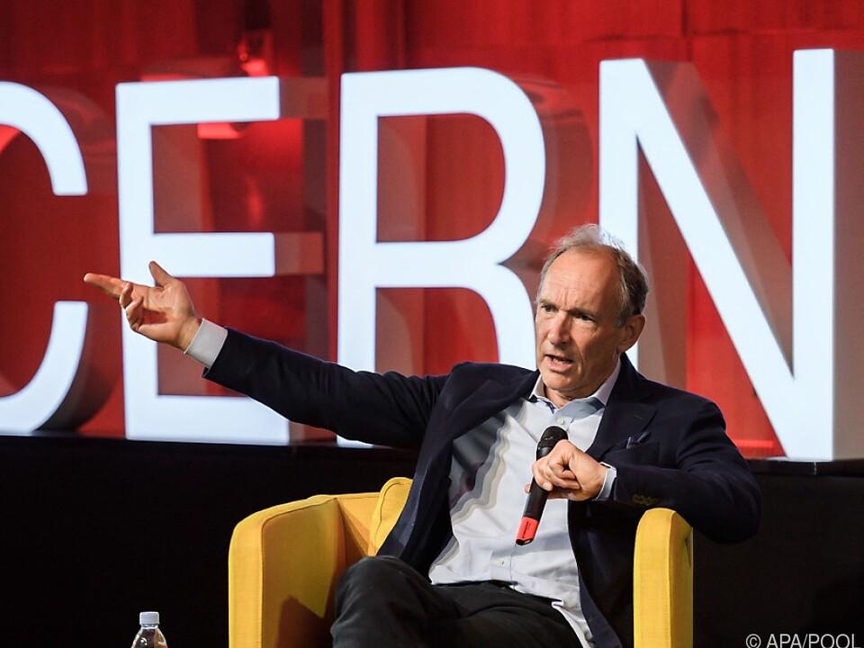 Tim Berners-Lee gilt als Vater des Internets