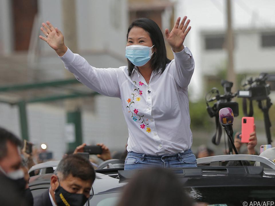 Tochter des früheren Präsidenten trat zum dritten Mal bei der Wahl an