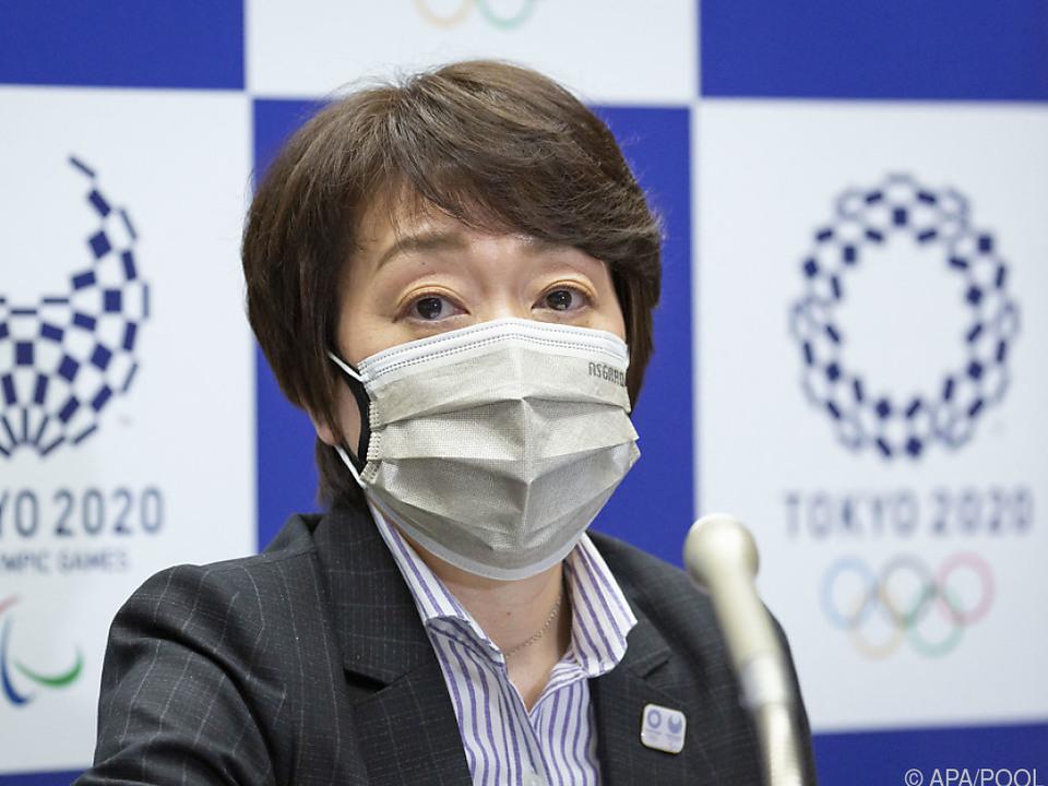 Tokios Olympiachefin Hashimoto hat einen schwierigen Job