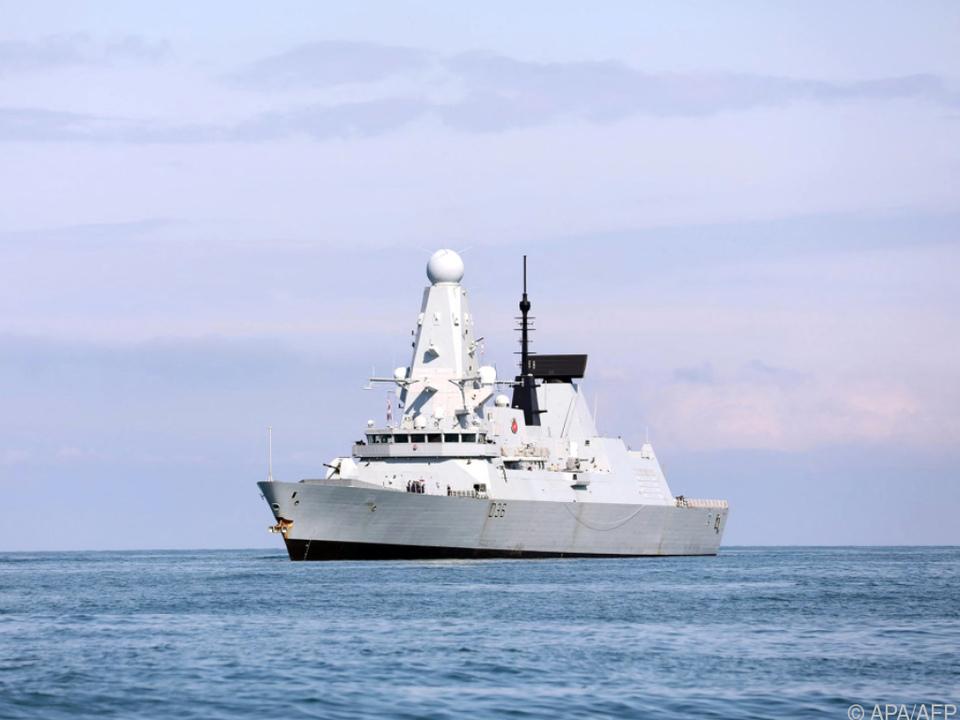 Übung findet kurz nach Zwischenfall mit britischem Kriegsschiff statt