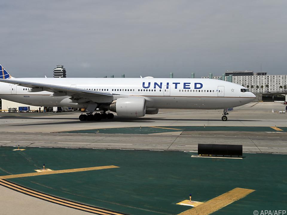 United Airlines erneuern ihre Flotte