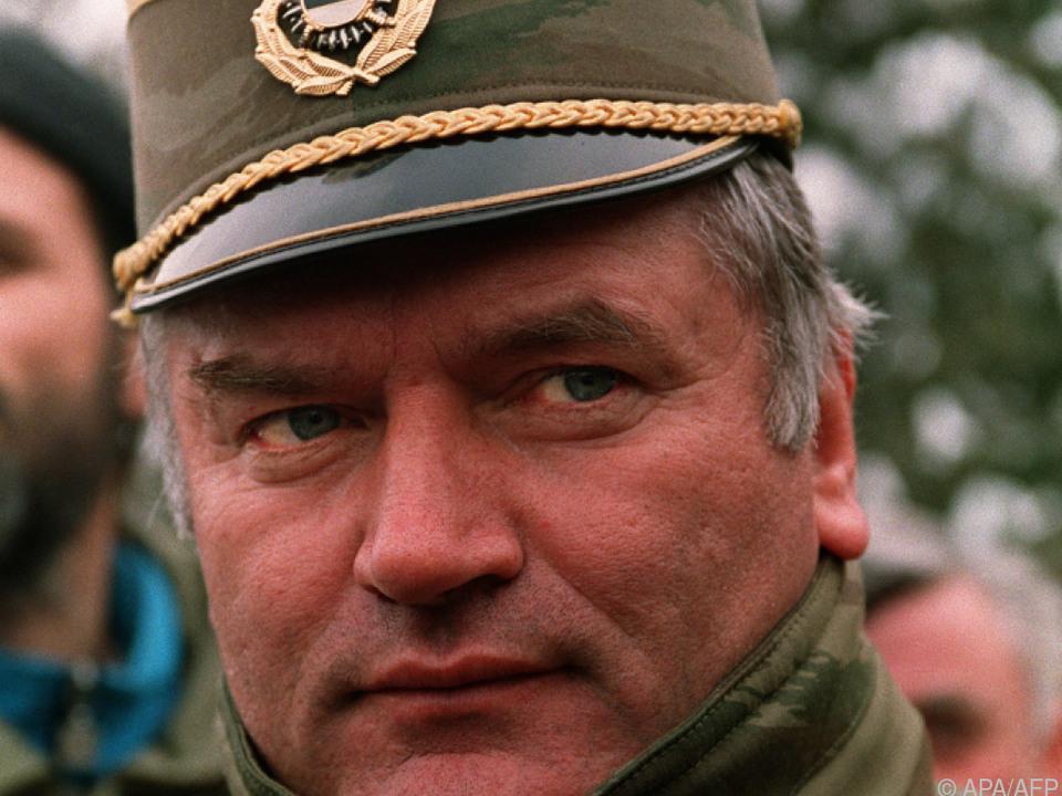 Urteil gegen Ratko Mladic