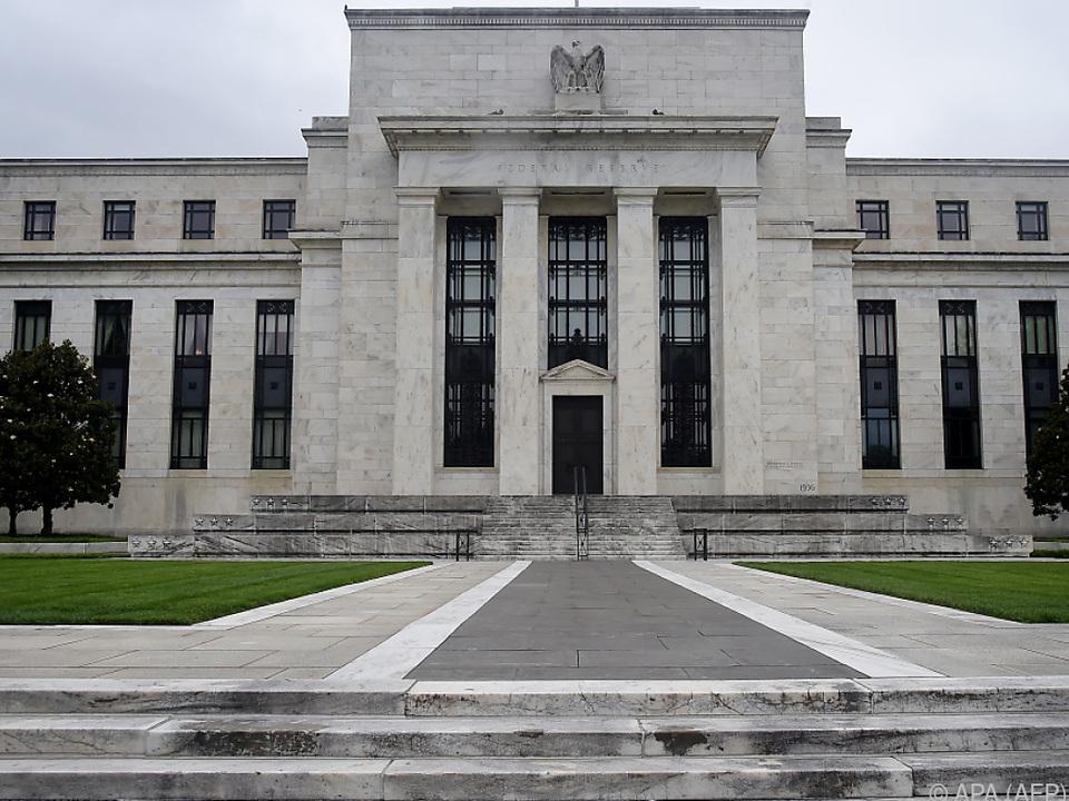US-Notenbank bestätigte Leitzinsen.