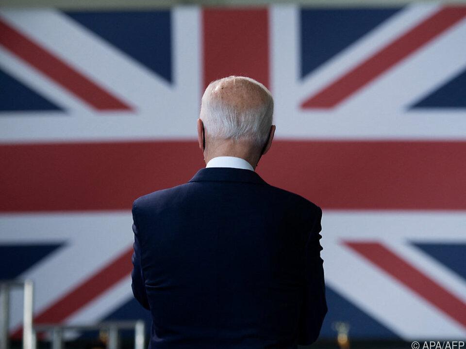 US-Präsident Biden als EU-Verbündeter in Großbritannien