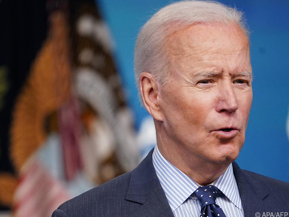 US-Präsident Biden erhöht Druck auf China