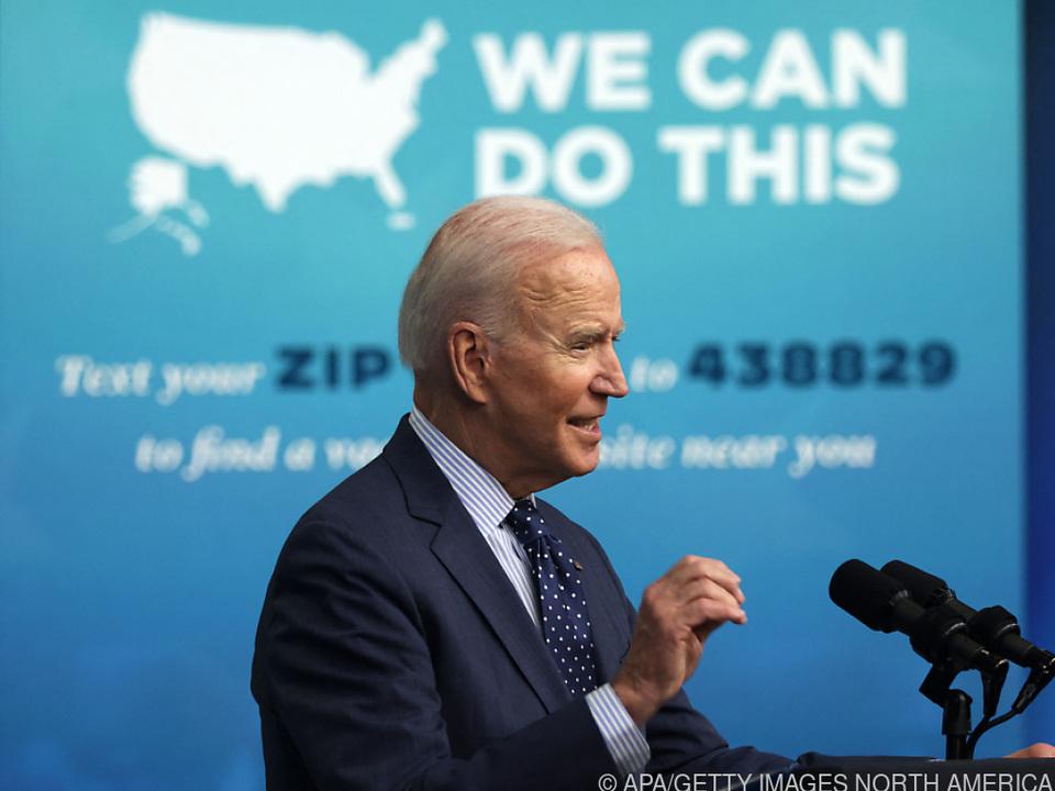 US-Präsident Joe Biden darf sich über gute Arbeitsmarktzahlen freuen