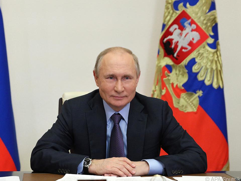 Vladimir Putin gab NBC ein Interview