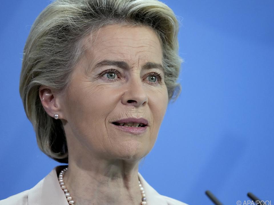 Von der Leyen kritisiert Ungarn