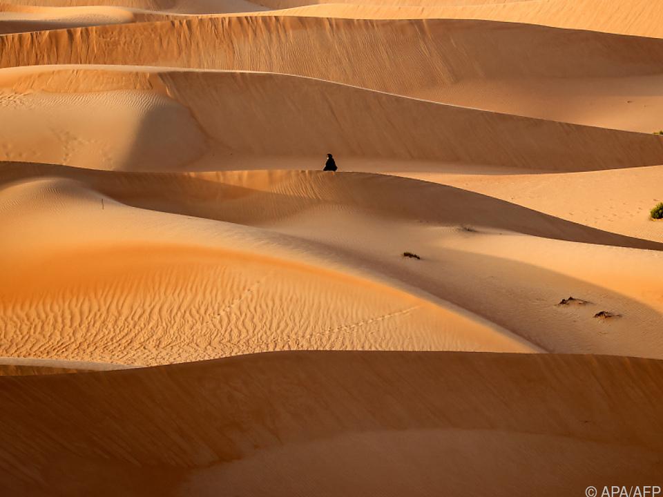 Vorerst gibt es weiterhin nur echte Dünen zu sehen