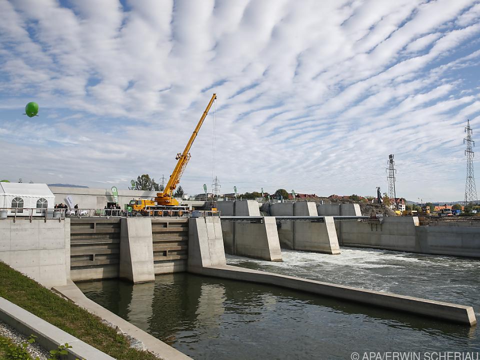 Wasserkraftewerke werden langsamer ausgebaut