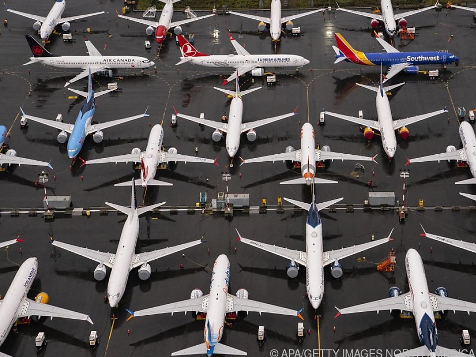 Wegen Corona wurden viele Flieger vorübergehend stillgelegt