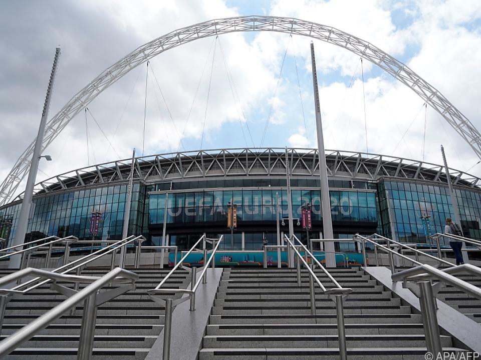 Wembley steht offenbar als Finalstadion zur Diskussion