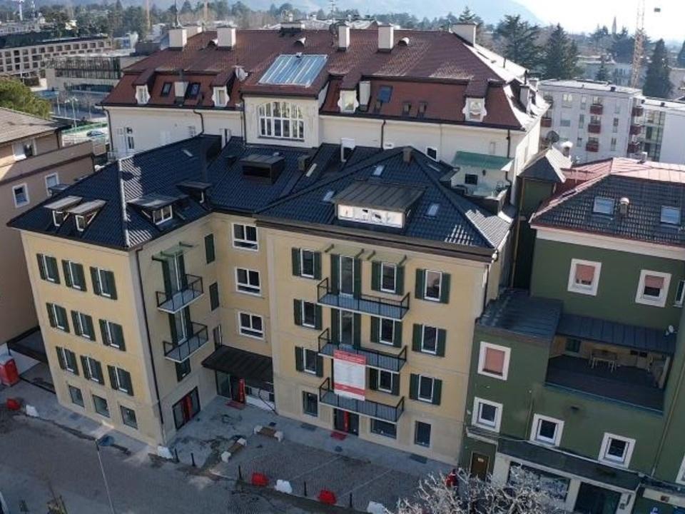 Wobi-Gebäude in Meran Carduccistraße