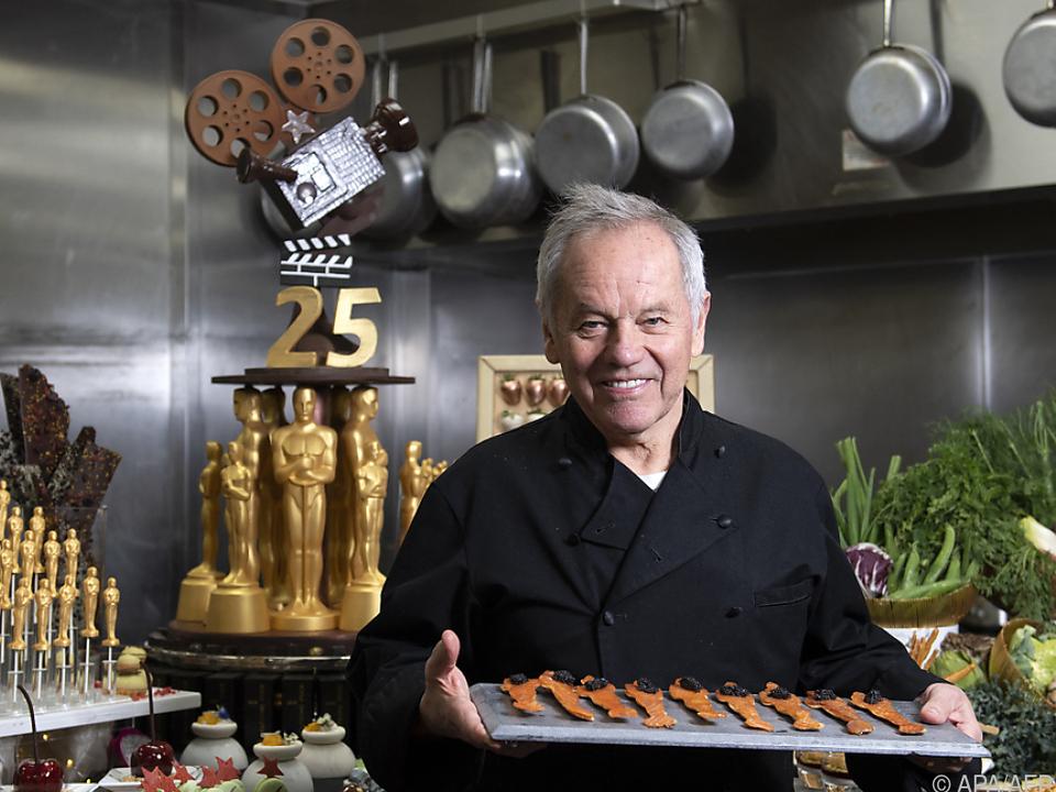 Wolfgang Puck ist für seine Partys bei den Oscar-Feiern bekannt