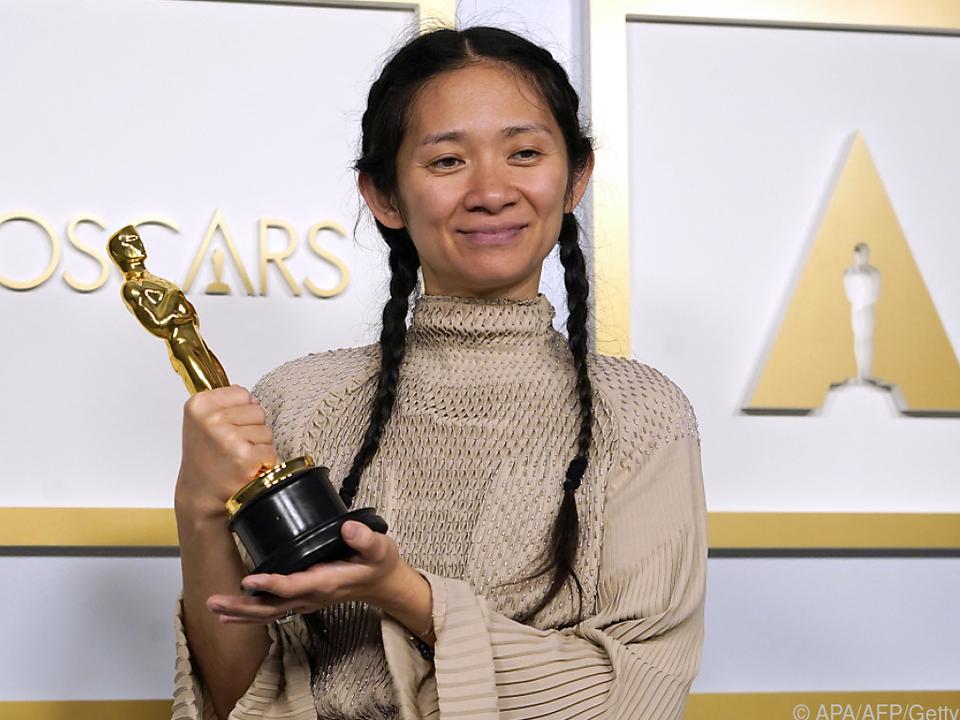 Zhao gewann für ihren Film \