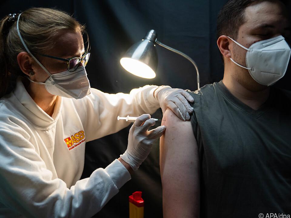 57,7 Prozent der Bevölkerung zumindest einmal geimpft