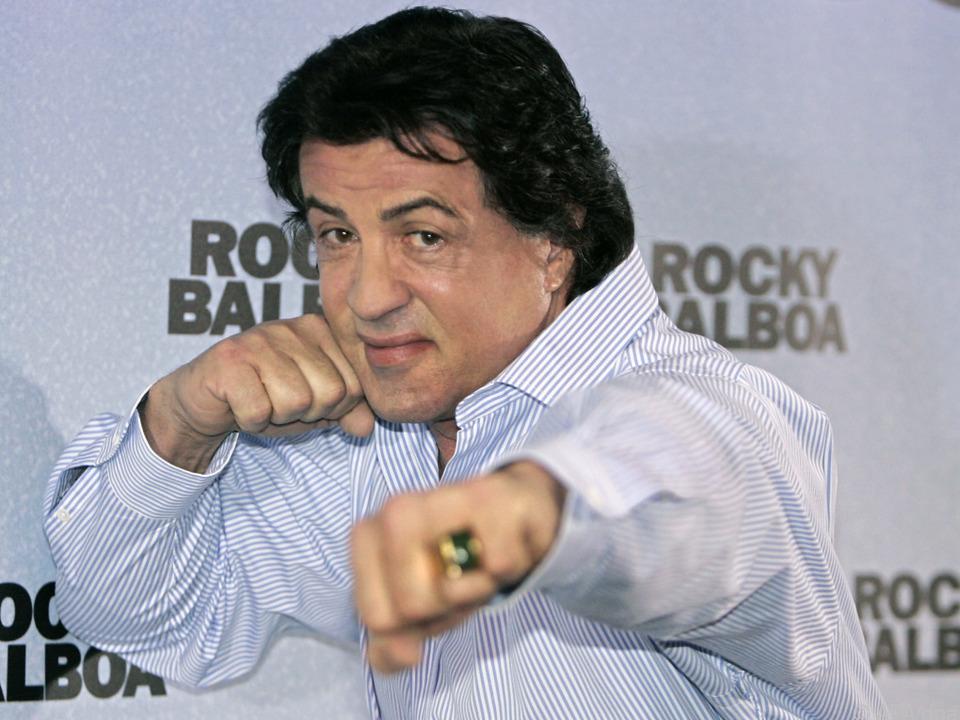 Action-Star Sylvester Stallone feierte einen runden Geburtstag