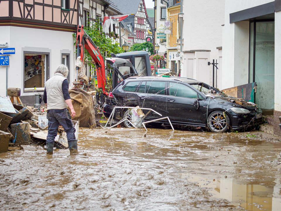 Ahrweiler, Hochwasserkatastrophe, Foto D. Pohlmann