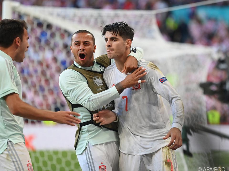 Alvaro Morata (r.) hat seinen Ruf als Goalgetter doch noch gerettet