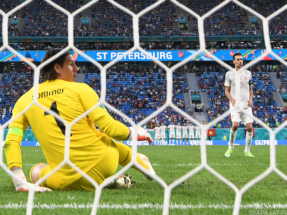 Am Ende konnte auch der starke Goalie Sommer die Schweiz nicht retten