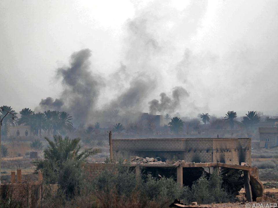 Angeklagter war im Kriegsland Syrien