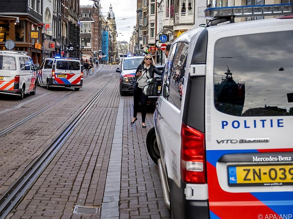 Anschlag auf Reporter in Amsterdam