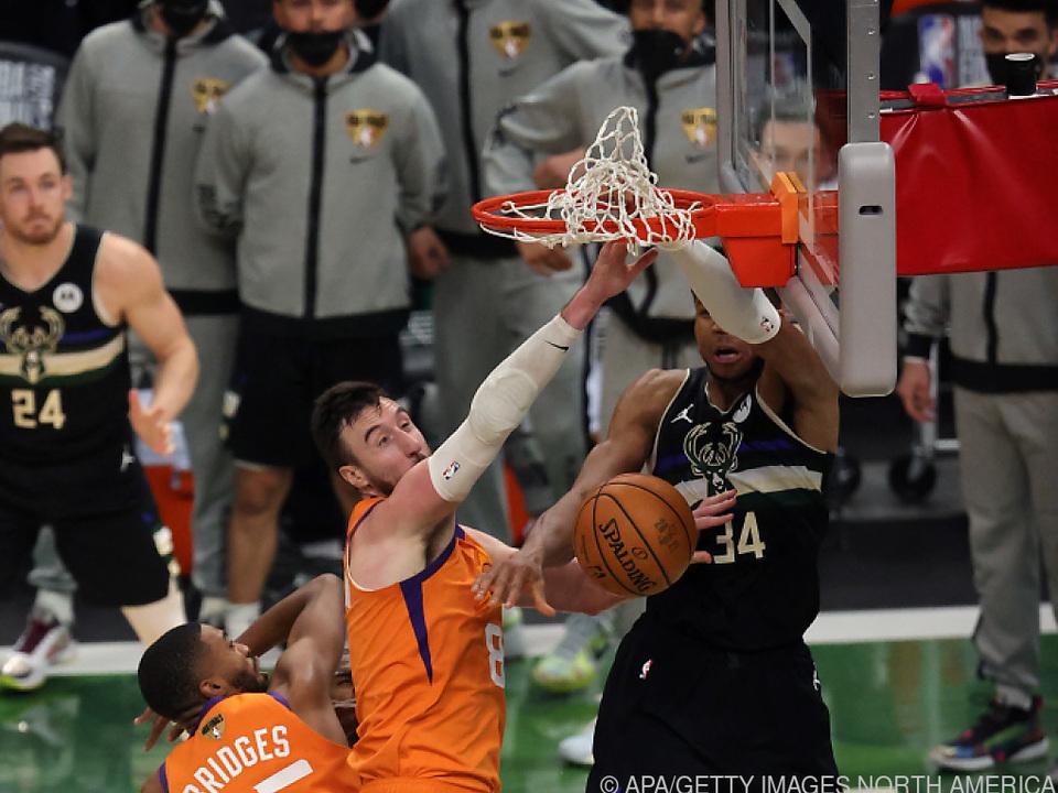 Antetokounmpo führte Bucks zu NBA-Triumph