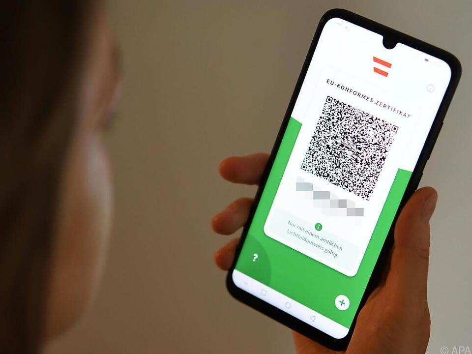 App bringt Zertifikat samt QR-Code in vereinfachter Form aufs Handy