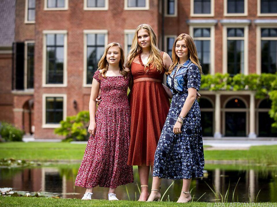 Ariane, Amalia, und Alexia wollen \