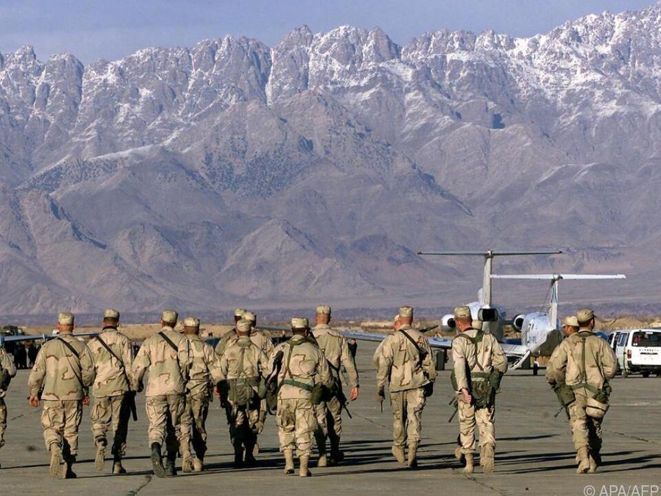 Aus Afghanistan abziehende US-Soldaten