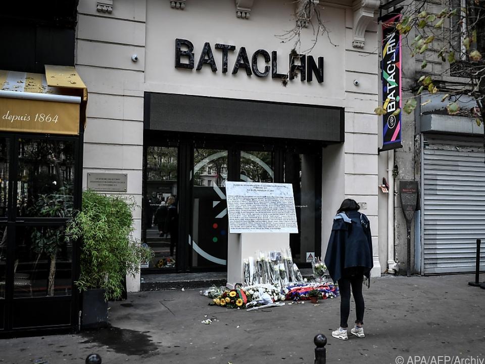 Bei dem Anschlag 2015 starben mehr als 80 Konzertbesucher