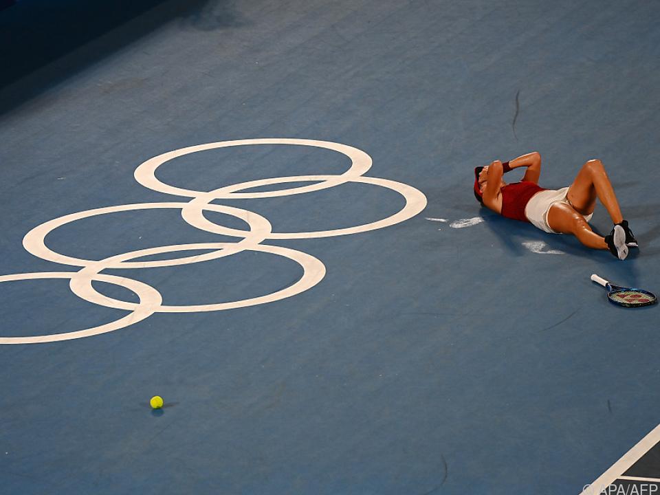 Bencic holte im Tennis-Einzel Gold