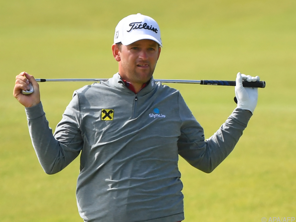 Bernd Wiesberger war seinem Start bei den British Open nicht zufrieden
