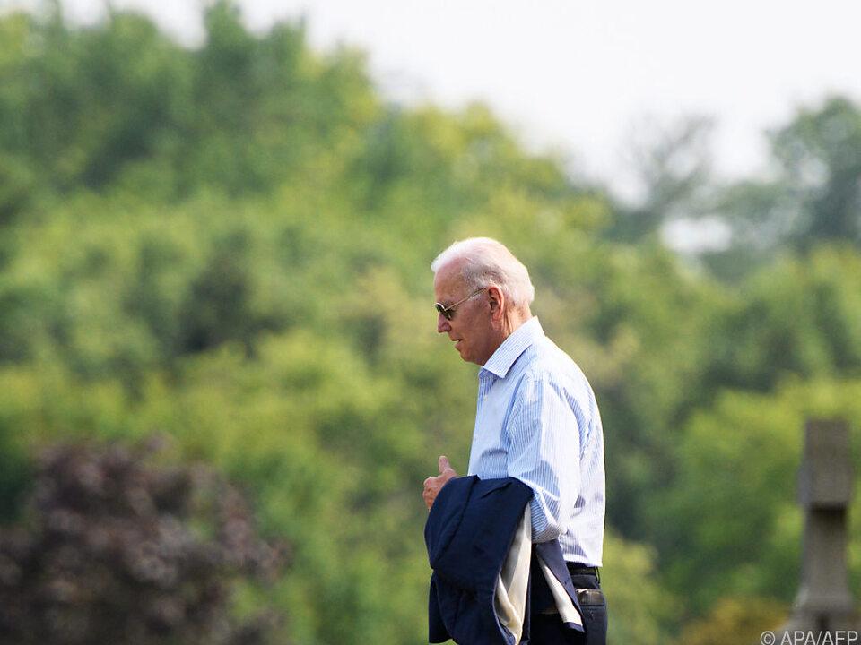 Biden erwartet Al-Kadhimi im Weißen Haus