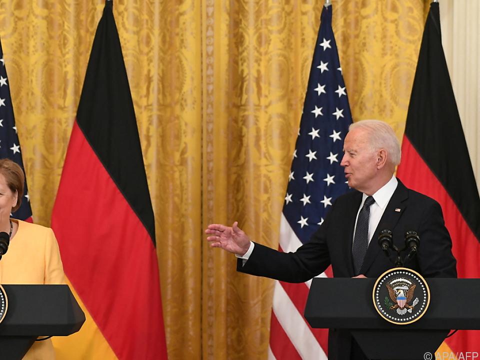 Biden Lobte Merkels Rolle in den vergangenen Jahren