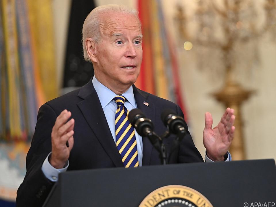 Biden verkündet raschen US-Abzug aus Afghanistan