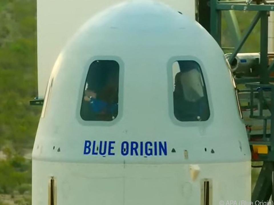Blue Origin will Kosten in Milliardenhöhe übernehmen