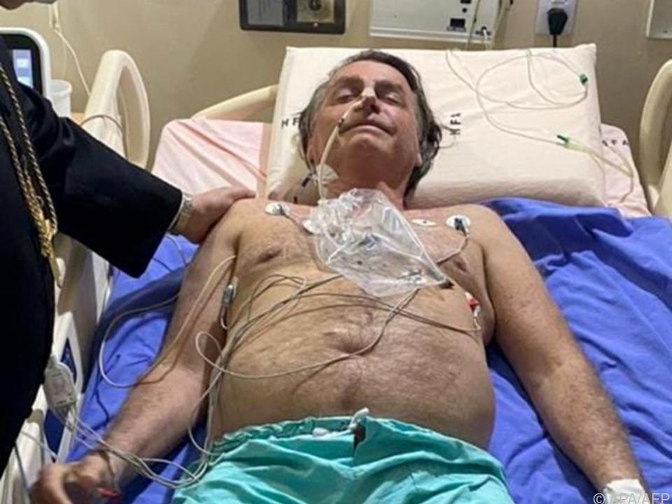 Bolsonaro wird in São Paulo behandelt