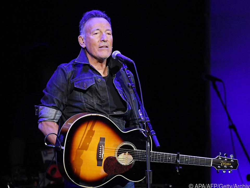 Bruce Springsteen ist mit von der Partie